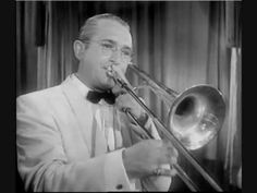 """Tommy Dorsey - I'm Getting Sentimental Over You - """"Thomas Francis """"Tommy"""" Dorsey, Jr. (1905-1956) was an American jazz trombonist, trumpeter, composer, and bandleader of the Big Band era. He was known as """"The Sentimental Gentleman of Swing"""", due to his smooth-toned trombone playing. He was the younger brother of bandleader Jimmy Dorsey. After Dorsey broke with his brother in the mid-1930s, he led an extremely popular and highly successful band from the late 1930s into the 1950s."""""""