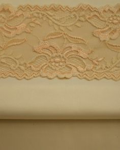 Trio Ivory, Ivory with Peach & Ivory lace $18CAN