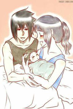 Sasuke e Hinata (SasuHina) Naruto And Hinata, Hinata Hyuga, Sasuke Uchiha, Anime Naruto, Manga Anime, Boruto, Naruto Shippuden, Naruto Family, Naruto Couples