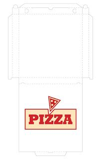 Noni's Crafts: tons of printables Barbie Food, Doll Food, Printable Box, Printables, Pizza Box Design, Pizza Craft, Vitrine Miniature, Felt Play Food, Pizza Boxes