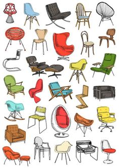 May Van Millingen (London), design modern design sketch chair mismatched chair upholstered office chair dining chair chair comfortable chair makeover wooden chair wooden chair chair design chair ideas Interior Architecture Drawing, Interior Design Renderings, Interior Sketch, Classical Architecture, Drawing Furniture, Chair Drawing, Chair Design, Furniture Design, Furniture Projects