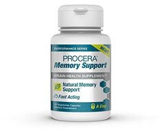 Natural Memory Boosting Brain Health Supplement | Daily Nootropic Promotes Memory Cognitive Function & Performance | Fast-Acting Ginkgo biloba Panax Ginseng | 30 Pills