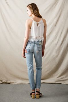 Vintage Patchwork Jean   #urbanoutfitters