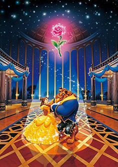 Tenyo (DW-471) Disney Beauty and The Beast Jigsaw Puzzle (1000 Piece)