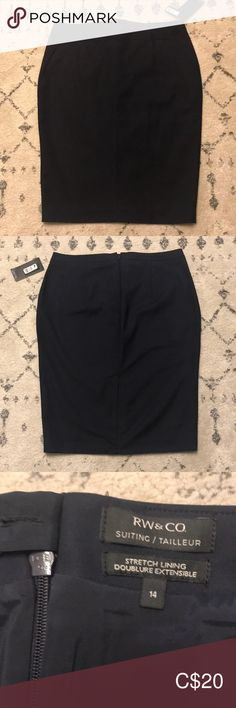 Shop Women's RW & Co. Blue size 14 Pencil at a discounted price at Poshmark. Size New with tags. Size 14, Pencil, Product Description, Navy, Best Deals, Skirts, Closet, Things To Sell, Style