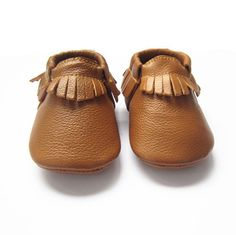 Fawn & Finch TAN LEATHER MOCCASINS These gorgeous Fawn & Finch baby and toddler fringed moccasins are made from super soft cow leather & are the perfect combination of comfort and durability, with elastic openings, these soft-soled moccasins offer ease in putting them on and taking them off.