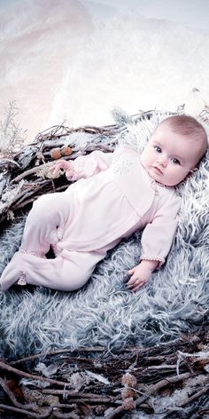 For newborn, Absorba offers more fashionable and trendy garments in a new capsule line while Liberty® line brings a floral note to baby's wardrobe. So Cute Baby, Baby Love, Cute Babies, Cute Girl Outfits, Cute Outfits For Kids, Baby Boy Outfits, Cute Mixed Kids, Cute Kids, Baby Clothes Storage