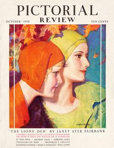 https://flic.kr/p/af22Uj | Pictorial Review 1930 10 | Pictorial Review 1930 10 Cover art by McClelland Barcley