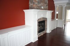 More Customized Molding / Moulding Ideas contemporary fireplaces
