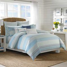 Nautica® Makay Reversible Comforter Set in Aqua