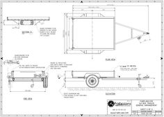 Image Result For Tilt Trailer Plans Blueprints  Trailer Build