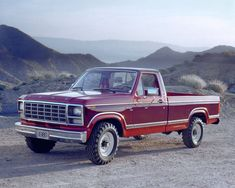 1980 Ford F-250 Pickup Truck..I want a white or black though..not red.