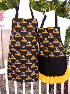 Hey, I found this really awesome Etsy listing at https://www.etsy.com/listing/170852241/pittsburg-steelers-set-aprons-for-men