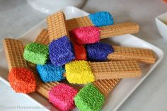 19 DIY Rainbow Birthday Party Ideas for a Colorful Commemoration - Diy Food Garden & Craft Ideas