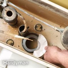 Fix a Running Toilet -DIY projects for toilets including toilet installation, toilet repairs like leaking toilets, fixing clogged toilet and more.  The Family Handyman - this is a great site for all things DIY, repairs and tips.