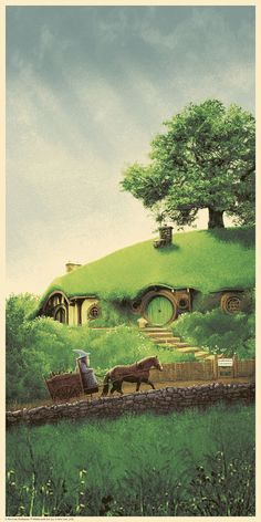 LOTR - Trilogy Series - Mark Ferguson - Fellowship of the Ring - ''Bag End'' ----