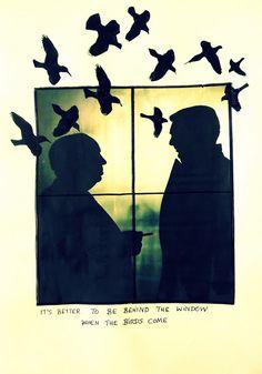 Bastelmania: People in the window