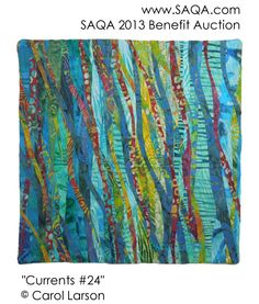 Art quilt by Carol Larson