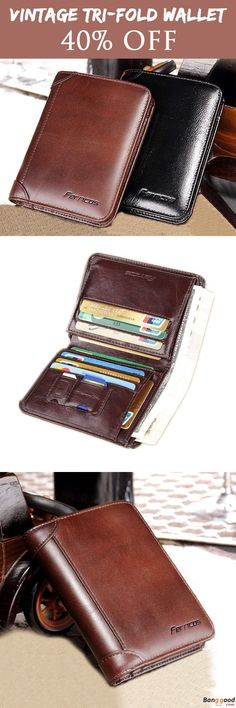 Recommend Mens Wallets for You. 4 Colors Optional. A Gentleman Must-have.