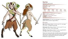 D&D Basic Monsters: Satyr