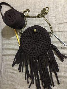 Penye ip çanta yapımı