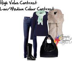 High value low/medium colour