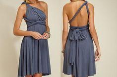 Bridesmaid Option Color by BrideToBeach  Just want dresses longer