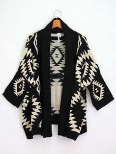 Aztec Cardigan, my newest addition!