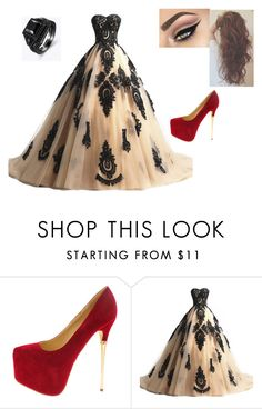 """""""Ball"""" by kendramiller543 ❤ liked on Polyvore featuring beauty"""