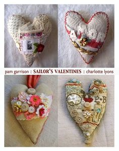 Love these sailor's valentines by Pam Garrison and Charlotte Lyons. Both of these women inspire me!