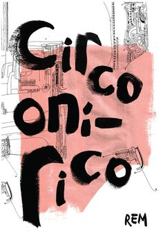 Pressbook REM - Circen by Yanina Giselle, via Behance