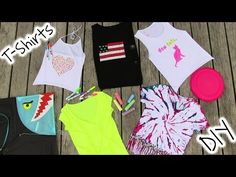 Very Cool DIY Clothes! 5 DIY T Shirt Projects - Cool!