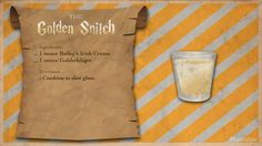 For Harry Potter's birthday, cast a banishing charm on butterbeer in favor of something a little more grownup. Harry Potter Cocktails, Harry Potter Food, Harry Potter Wedding, Disney Drinks, Fun Drinks, Alcoholic Drinks, Party Drinks, Birthday Drinks, Drink Recipes