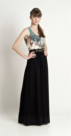 Saia Longa Lisa | Vestuário | Antix Store