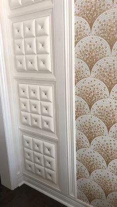 Make your walls stand out with our Leather panels! Easy to install (glue only). For more designs - visit our website www.talissadecor.com #luxuryhome #3dwall