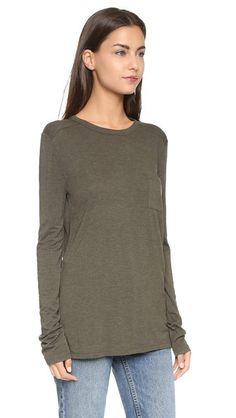 T by Alexander Wang Classic Pocket Pullover