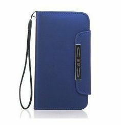Noarks ® Wallet Style Magnetic Flip Leather Case with Credit/ID Card Slot for Samsung Galaxy S4 mini i9190 (Blue), http://www.amazon.com/dp/B00DU68BWK/ref=cm_sw_r_pi_awdl_1ouMsb0SBJ94S