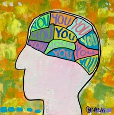 "Saatchi Art Artist brian nash; Painting, ""You are on my mind""; acrylic"