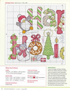 Cross-stitch Happy Holidays, part color chart on part Gallery.ru / Фото - Cross-Stitch and Needlework - tymannost Xmas Cross Stitch, Cross Stitch Needles, Cross Stitch Alphabet, Cross Stitch Charts, Cross Stitch Designs, Cross Stitching, Cross Stitch Embroidery, Cross Stitch Patterns, Theme Noel