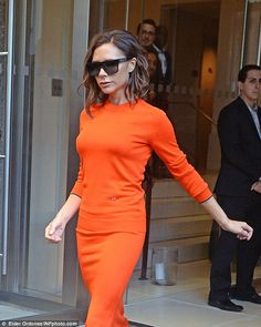 VB: She looked incredible as she continued to showcase her latest creations…