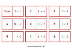 Domino lilla plus 1 och alla andra nivåer