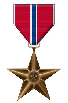 estrella de bronce. chile