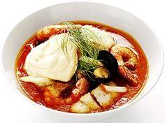 Lyxig fiskgryta med basilikaaioli (kock Tommy Myllymäki)