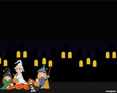 Free Halloween Night Powerpoint Template is a free dark template for Halloween presentations in Microsoft PowerPoint 2007 and 2010