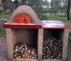 Step-by-step how to build a pizza oven