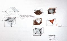 Giampaolo Babetto sketches (at Giampaolo Babetto conference at JOYA 2014)