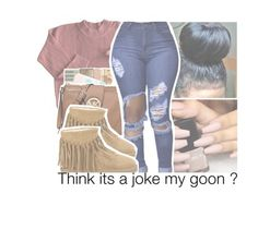 """""""Lowkey wanna go back to school"""" by brianna-pina ❤ liked on Polyvore featuring UGG Australia"""