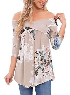 New in our shop! Chase Secret Womens Casual Off Shoulder 3 4 Sleeve Floral Print Blouses Tops Shirts Medium Grey http://aes-finds.com/products/chase-secret-womens-casual-off-shoulder-3-4-sleeve-floral-print-blouses-tops-shirts-medium-grey?utm_campaign=crowdfire&utm_content=crowdfire&utm_medium=social&utm_source=pinterest