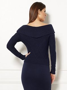 Eva Mendes Collection - Jolanta Sweater - New York & Company