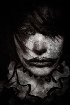 Moody clown